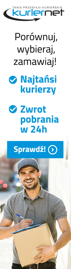 reklama kuriernet.pl tanie przesyłki kurierskie