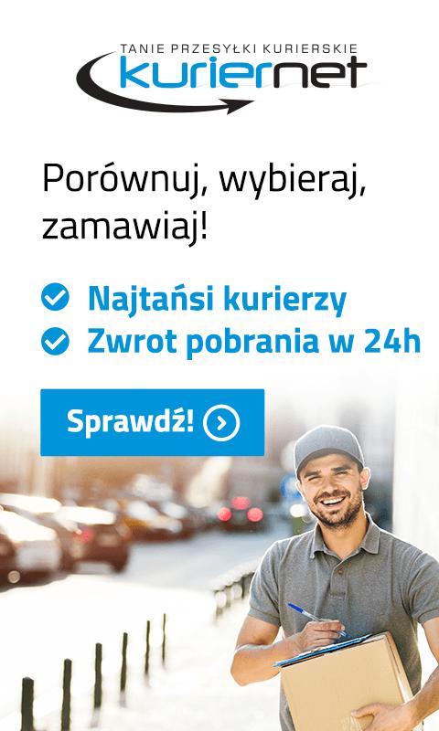 Reklama tanie przesyłki kurierskie kuriernet.pl