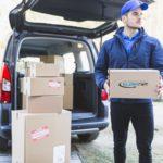 Doręczenia paczek DPD, DHL i UPS
