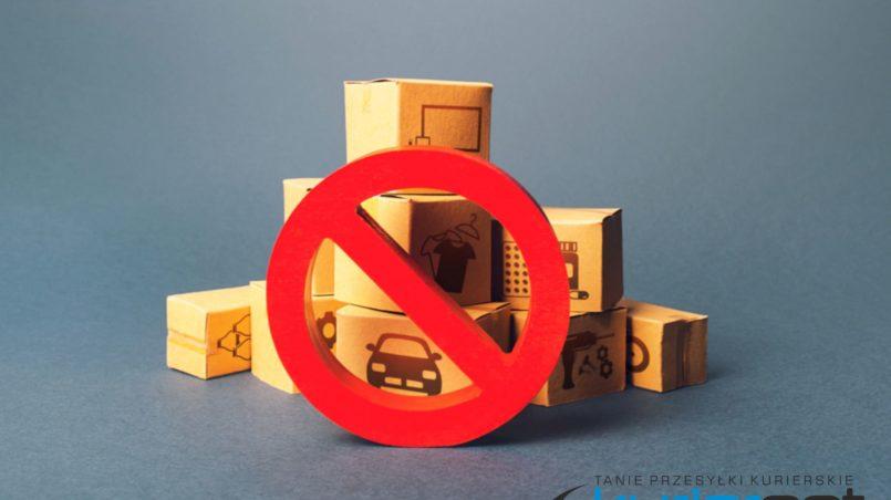 rzeczy zabronione w transporcie